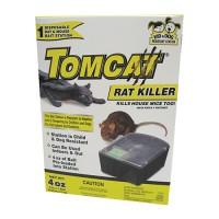 Motomco Ltd D tomcat rat killer disposable bait station - 4 ounce, 4 ea