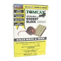 Motomco Ltd D tomcat all-weather rodent block - 4x1 lb block, 4 ea