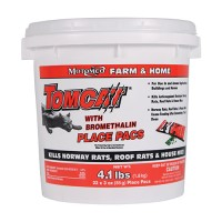 Motomco Ltd D tomcat with bromethalin place pacs pail - 22 x 3 oz pacs, 4 ea