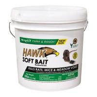 Motomco Ltd D hawk soft bait pail - 8lb, 2 ea