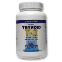 Absolute nutrition thyroid t3 capsules - 60 ea