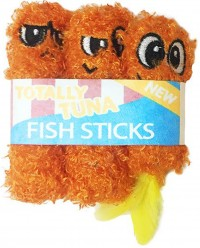 Petstages fish sticks catnip toy - small, 48 ea