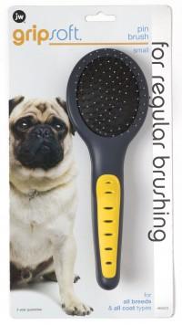 Jw - Dog/Cat jw gripsoft pin brush - small, 12 ea