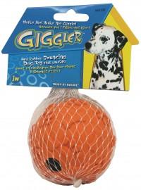 Jw - Dog/Cat giggle ball - medium, 72 ea