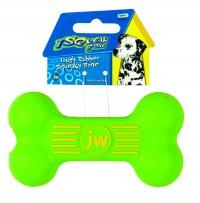 Jw - Dog/Cat isqueak bone - small, 6 ea