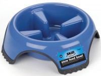 Jw - Dog/Cat jw skid stop slow feed bowl - large, 48 ea