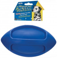 Jw - Dog/Cat isqueak funble football - large, 36 ea