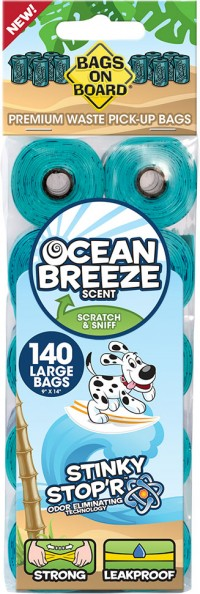 Bramton Company bag on board refill bags for dog waste - 140 ct, 48 ea