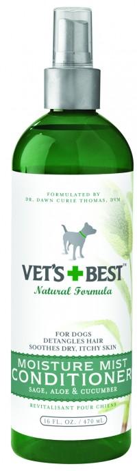 Bramton Company vet's+best moisture mist conditioner for dogs - 16 oz, 12 ea