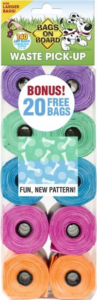 Bramton Company fashion print bag refill pack - 140 ct, 48 ea