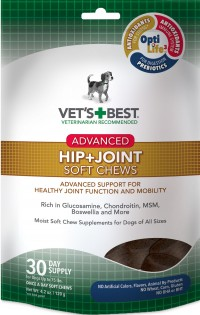 Bramton Company vets best hip + joint advanced soft chew - 4.2 ounce, 6 ea