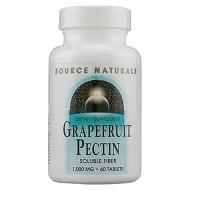 Source Naturals Grapefruit pectin 1000 mg tablets - 60 ea