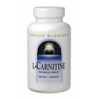 Source Naturals Acetyl L-carnitine 250 mg tablets - 60 ea