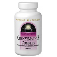 Source Naturals Coenzyme B Complex, Pepermint - 30 Sublingual Tablets
