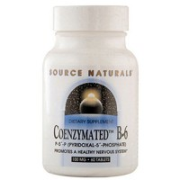 Source Naturals Coenzymated B-6 100 mg tablets - 60 ea