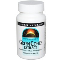 Green coffee extract powerful antioxidant tablets, 500 mg - 30 ea