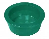 Van Ness Plastic Molding heavyweight translucent crock dish - small/9.5 oz, 12 ea
