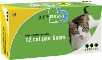 """Van Ness Plastic Molding van ness cat pan liners - 19x15""""/12 count, 12 ea"""