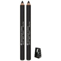 Cover girl brow and eye makers brow shaper and eyeliner, midnight black #500 - 2 ea