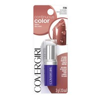 Covergirl continuous color lipstick, bronzed glow - 2 ea