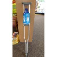 Carex health brands a975c0 push button aluminum crutches tall - 1 ea