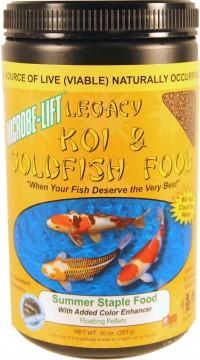 Ecological Laboratories microbe-lift summer staple pond food - 10 oz, 12 ea