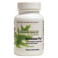 FoodScience Of Vermont nattokinase plus vegetarian formula - 60 ea