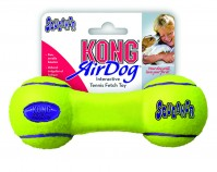 Kong Company air dog squeaker dumbbell dog toy - large, 24 ea