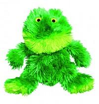 Kong Company kong plush sitting frog toy - medium, 24 ea