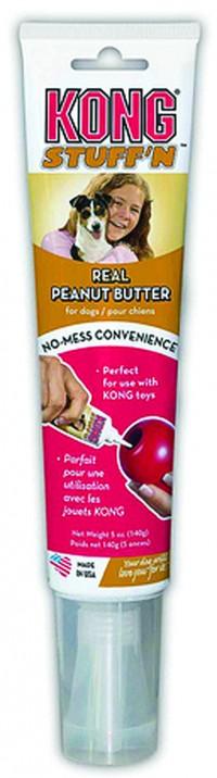 Kong Company stuff n real peanut butter tube - 5 oz, 24 ea