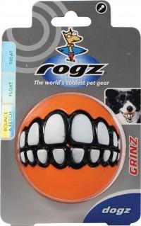 Kong Company rogz grinz treat ball dog toy - 3 inch/large, 24 ea