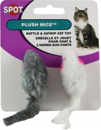 Ethical Cat plush mouse twin pack - 2 inch, 120 ea
