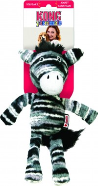 Kong Company yarnimals zebra - small/medium, 24 ea