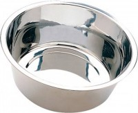 Ethical Ss Dishes stainless steel mirror pet dish - 1 quart, 144 ea