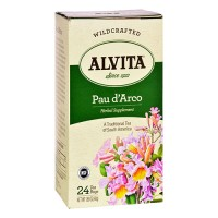 Alvita wildcrafted paud'arco herbal revitalizing tea - 24 bags