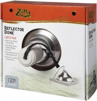 Zilla reflector dome light and heat - 8.5 inch, 12 ea