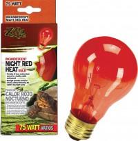 Zilla night red heat incandescent bulb - 75 watt, 24 ea