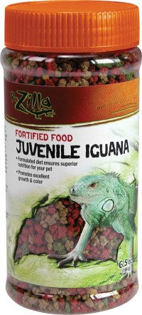 Zilla fortified juvenile iguana food - 6.5 ounce, 6 ea