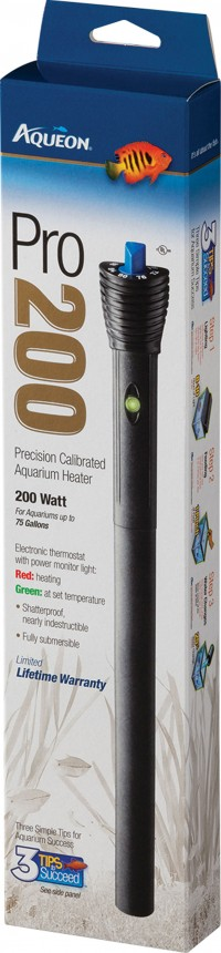 Aqueon Products-Supplies aqueon heater pro series v2 - 200 watt, 24 ea