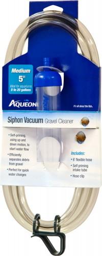 Aqueon Products-Supplies siphon vacuum gravel cleaner - medium/5 inch, 12 ea