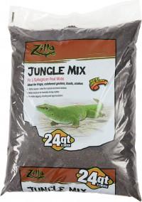Zilla jungle mix reptile bedding - 24 quart, 1 ea