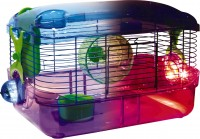 Super Pet- Container crittertrail led lighted habitat - 16x10x9 in, 6 ea