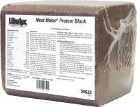 Ridley Inc. ultralyx® meat maker® goat protein block - 25 lb, 1 ea