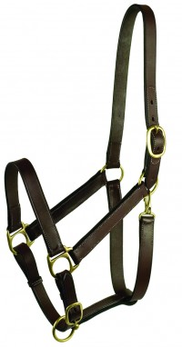 Gatsby Leather Company stable halter with snap - large horse, 5 ea