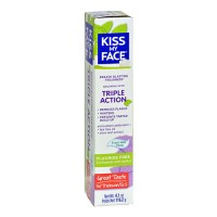 Kiss my face  tripal action toothpaste - 4.1 oz