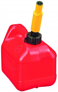 Midwest Can Company P spill proof poly gas can - 1 gallon, 12 ea