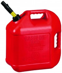 Midwest Can Company P spill proof poly gas can - 5 gallon, 4 ea