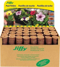 Jiffy/Ferry Morse Seed Co jiffy-7 plant starter pellets display - 1000 count, 1 ea