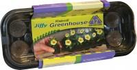 Jiffy/Ferry Morse Seed Co jiffy-7 mini greenhouse - 12 cell, 17 ea