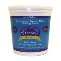 Stewarts Treats freeze dried beef liver treats - 14 oz, 6 ea